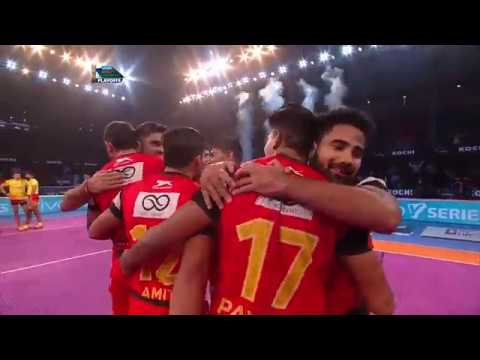 Pro Kabaddi 2018 | Qualifier 1 - Gujarat Fortunegiants vs Bengaluru Bulls | Match Highlight | HINDI