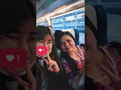 South Korea trip day 1 : Incheon-Seoul-Busan