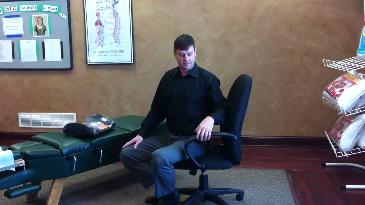 how to set up your office chair for good ergonomics and spinal