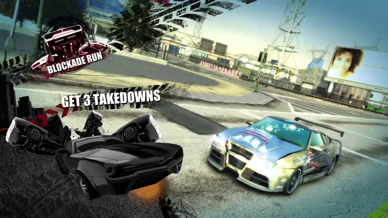 Burnout Paradise Remastered Gameplay [PS4]