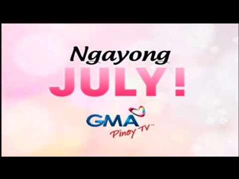 GMA Pinoy TV specials for the month of July