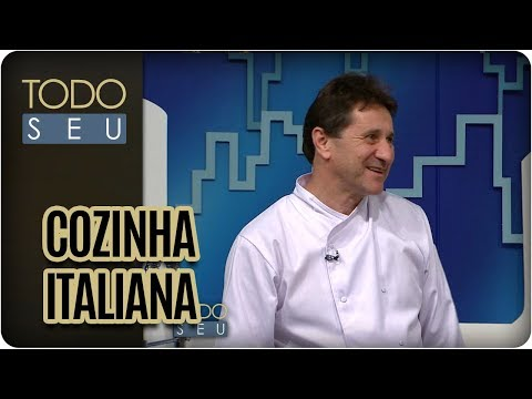 Gastronomia Italiana | Chef Aldo Teixeira - Todo Seu (28/09/17)
