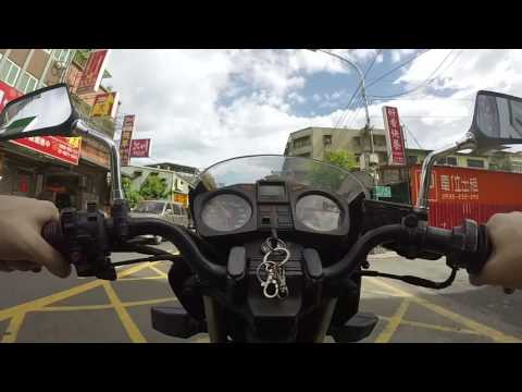 Yamaha RZX 135 1989 First Ride in Crazy Taipei Taiwan