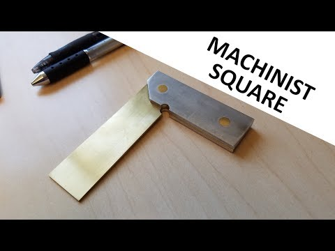 Machining a Machinist Square