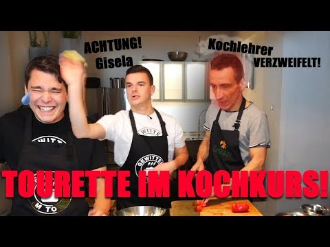 Tourette Im Kochkurs! Lehrer Verzweifelt An Uns Beim Kochen #1