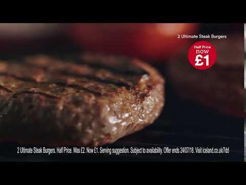Iceland Ultimate Steak Burger 7DD