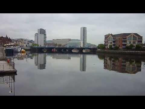 River Lagan, Belfast, Nothern Ireland