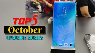 Top 5 UpComing Smartphones in October 2019 with Price & Launch Date !