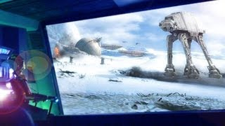 [ Disneyland ] Star Tours POV California STAR WARS Ride thumbnail