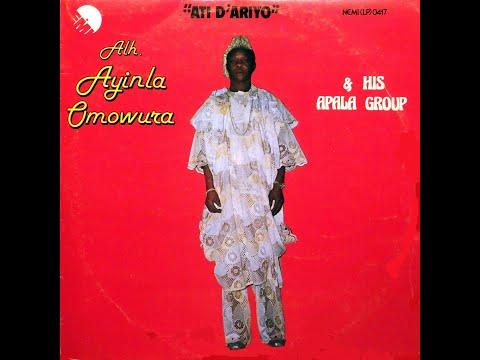 Alhaji Ayinla Omowura & his Apala Group - Side 1