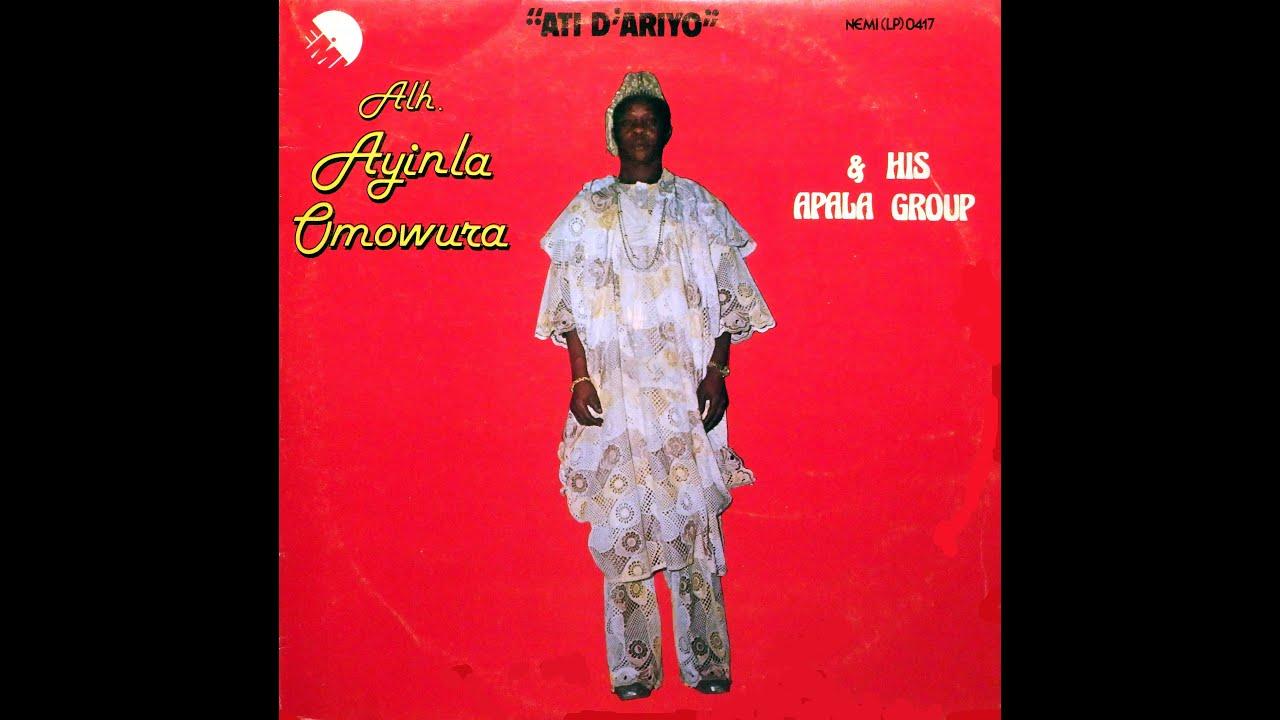 Download Alhaji Ayinla Omowura & his Apala Group - Enirobisimi Ibiaba