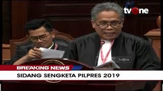 [FULL] BREAKING NEWS | Sidang Sengketa Pilpres 2019 (Part 2)