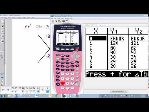 Factoring Trinomials Calculator
