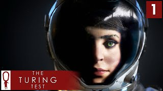 The Turing Test Gameplay Part 1 - Ava Turing [Chapter 1] Lets Play PC