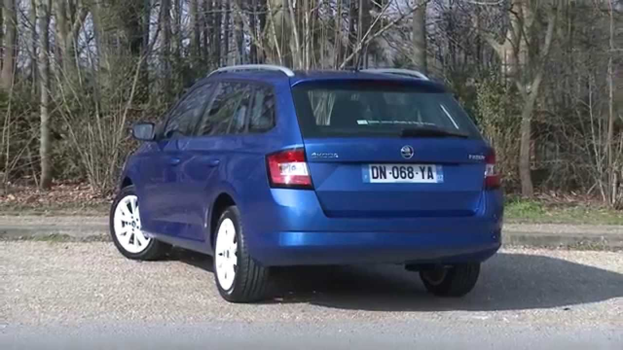 essai skoda fabia combi 1 4 tdi 90ch youtube. Black Bedroom Furniture Sets. Home Design Ideas