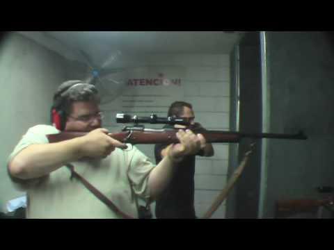 458 Winchester Magnum disparando