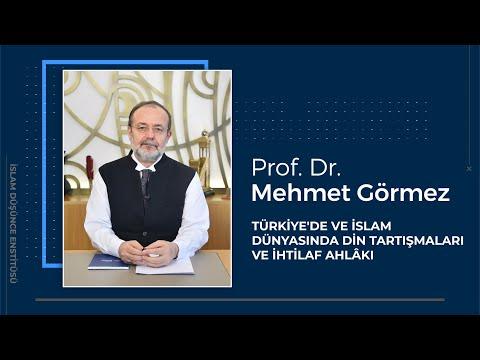 Prof. Dr. Mehmet Görmez I Türkiye'de ve Ýslam Dünyasýnda Din Tartýþmalarý ve Ýhtilaf Ahlâký