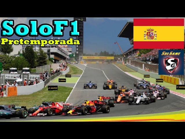 🔴 F1 2020 - Retransmisión SoloF1 //  Pretemporada (Gp España)