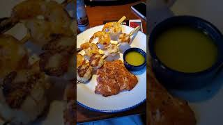 Lunch at Red Lobster - Keto Style!