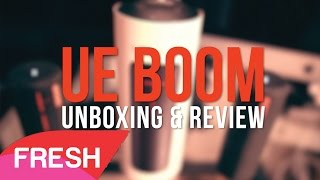 Video UE BOOM (Bluetooth Speaker) Unboxing & Review download MP3, 3GP, MP4, WEBM, AVI, FLV Juli 2018