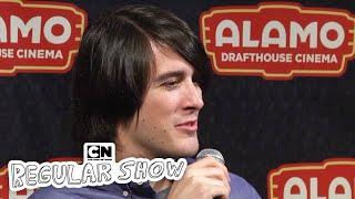 Alamo Drafthouse Q & A, Das Ich Regular Show: Der Film, Den Ich Cartoon Network