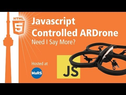Javascript Controlled ARDrone, Need I Say More?