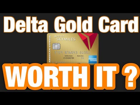 Delta Gold Skymiles American Express Card Review