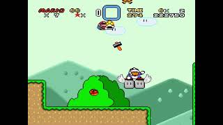 "[TAS] SNES Super Mario World ""no powerups, maximum exits"" by PangaeaPanga in 1:18:23.22"