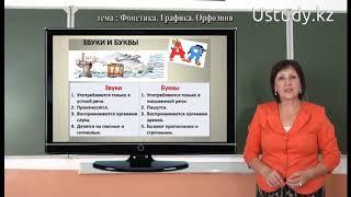 Подготовка к ЕНТ: Русский язык (Фонетика, Графика, Орфоэпия)