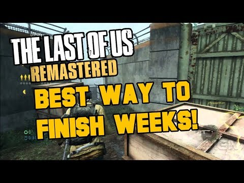 The Last Of Us Remastered - Easiest Ways To Get 12 Weeks Trophy! (TLOU Tips & Strategies)