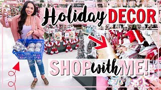 ULTIMATE CHRISTMAS DECOR SHOP WITH ME 2018! 3 STORES! | Alexandra Beuter