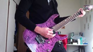 陰陽座の甲賀忍法帖を一年ぶりに再び弾いてみましたw Ibanezのギターも...