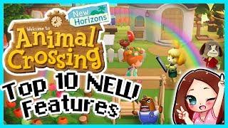 Animal Crossing New Horizons 10 New Features - MissFushi