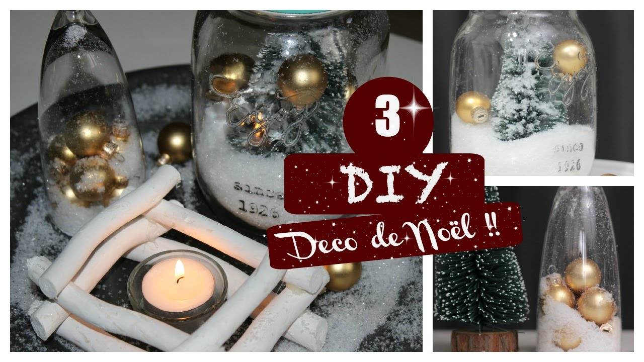 Diy francais d coration de noel 5 youtube for Youtube decoration de noel