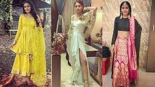 New & trendy stylish outfits design ideas inspired by Anika/indowestern outfits design for party
