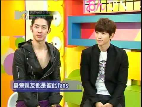 vanness wu & 2PM Junho in MTV Chinese - interviewed by kun lin