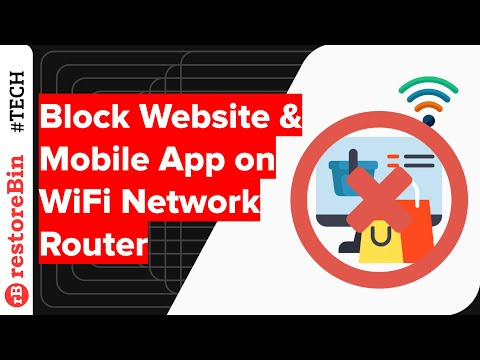 Block sites: easily block websites and apps from network access in WiFi settings 1
