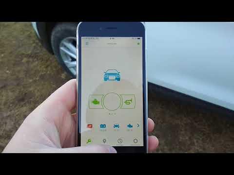 Nissan Qachqai установлен Starline с дистанционным бесключевым запуском GSM. Мобильное приложение!