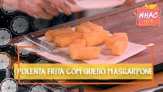 Polenta Frita com Queijo