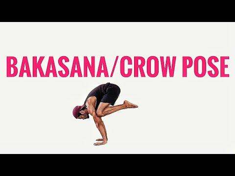 bakasana for beginnerscrow pose arm balancing asana in 5