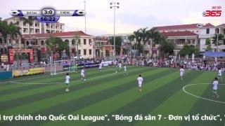 Quốc Oai League 2017 Full Video vòng 2: Quê Lụa - X MENS