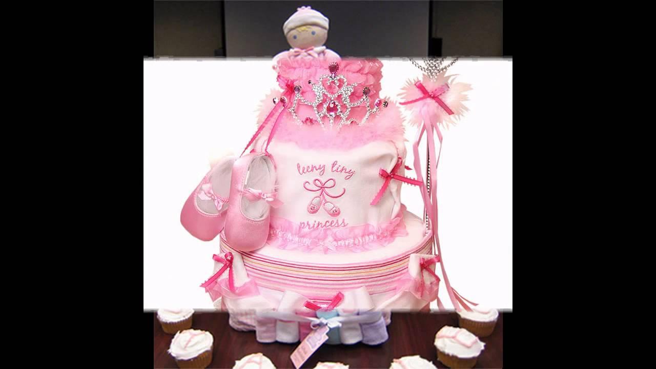 Creative Diaper Cake Ideas For Girls Youtube