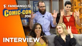 'Blindspot' Cast Interview – COMIC CON 2016