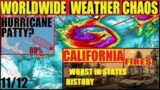 *BREAKING* WORST IN CALIFORNIA HISTORY! HURRICANE PATTY, NOR\'EASTER Season