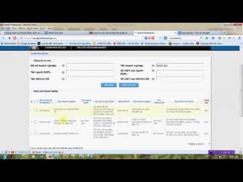 Cách tra cứu mã số thuế và thông tin doanh nghiệp
