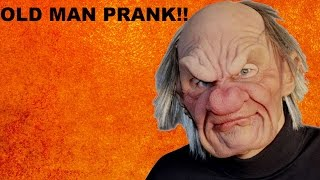 OLD MAN PRANK!!