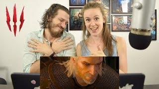Ведьмак 3: Дикая Охота - Геймплейный трейлер | Реакция