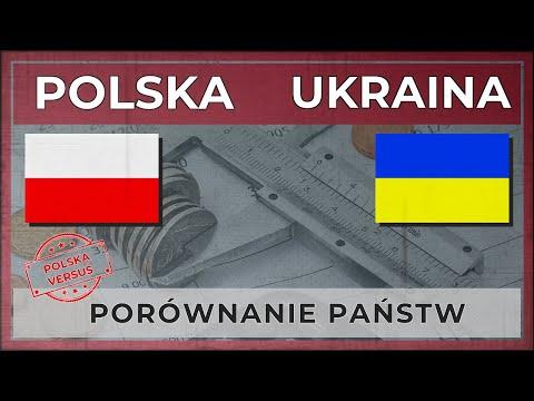 POLSKA vs UKRAINA | Porównanie państw 2018 [NOWOŚĆ]