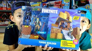 TOY Review Fortnite Turbo Builder Set 2 Figure Pack, Jonesy & Raven