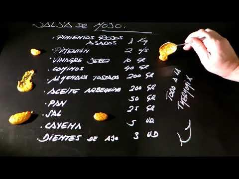 Salsa de mojo rojo, la receta de Lakasa